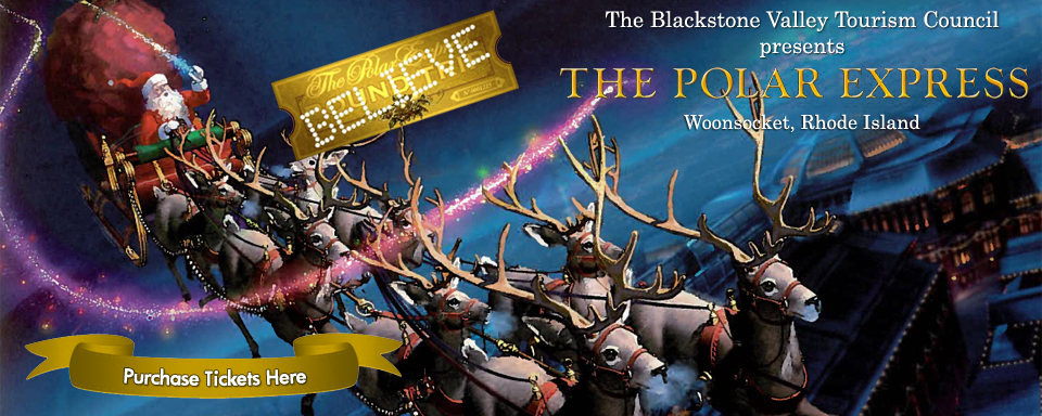 Polar Express Tickets Blackstone Valley Rhode Island